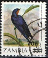 ZAMBIA - 1990 - UCCELLO - BIRD - USATO - Zambia (1965-...)
