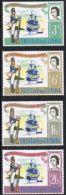 Tristan Da Cunha SG93-96 1966 150th Anniversary Of Tristan Garrison Set 4v Complete Unmounted Mint - Tristan Da Cunha