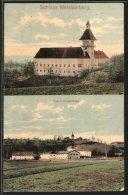 AK Weissenberg, Blick Zum Schloss, Fabrik - Ohne Zuordnung