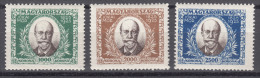 Hungary 1925 Mi#398-400 Mint Never Hinged