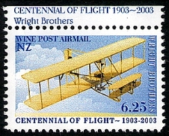 New Zealand Wine Post Centenial Of Flight - New Zealand