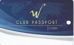 WinStar Casino Thackerville OK 5th Issue Slot Card - Reverse Logo Bottom Left  (Blank) - Casino Cards