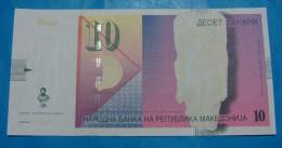 MACEDONIA 10 DENARI 2005, UNC. - Macedonia