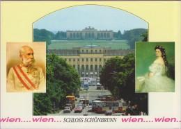 Autriche °° Vienne  - Kaiser Franz Josef I Kaiserin Elisabeth Sissy - écrite 2006 - Château De Schönbrunn