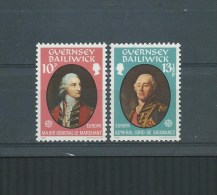 GUERNESEY EUROPA 1980 Mi 204-205 MNH/** - Guernesey