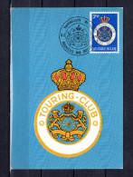 """Carte Maximum De 1971 """" 75 ANS DU TOURING CLUB DE BELGIQUE """". N° YT 1569.  Parfait état. CM - Cartes-maximum (CM)"""