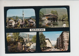 Bosnia And Herzegovina - Sarajevo Mosque Islam Unused Old Postcard  (re1929) - Islam