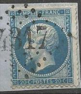 NAPOLEON  N°  22  OBL LOSANGE GC 4317 TB - 1849-1876: Periodo Classico