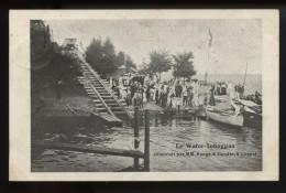 Le Water Toboggan Construit Par MM Rouge & Gaudin A Coppet  Rare - VD Vaud