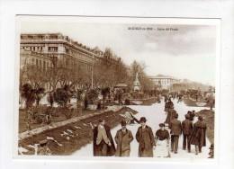 Reproduction Cpa MADRID En 1900 Salon Del Prado - Madrid