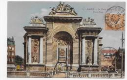 LILLE EN 1928 - N° 1 -  LA PORTE DE PARIS - BEAU CACHET - CPA VOYAGEE - Lille