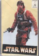 Magnifique Carte  Stand Up Sous Blister Avec Enveloppe 12x18 Cm Star Wars Lucke Skywalker - Cinema