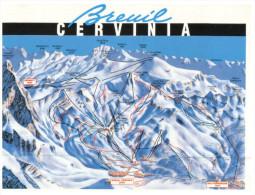 (246) Map Of Cervinia - Carte Geografiche