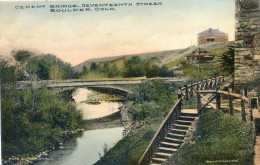 Colorado - Boulder - Cement Bridge, Seventeenth Street - Denver