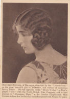 AMAMI ADVERTISING CARD - MISS IRENE COWDEN - Attori