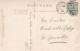 PORTPATRICK.  GLOUCESTER DUPLEX CANCELLATION - Postmark Collection