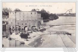 MO-  AIGUILLON   EN LOT ET GARONNE LA PECHE AUX ALOSES    CPA  CIRCULEE - France