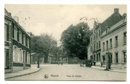 CPA  Belgique  : ROEULX   Place Du Château   A   VOIR   !!!! - Belgique