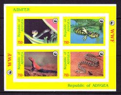 ADYGEA_, REPTILES, WWF, ** MNH .  (5R40) - Serpents