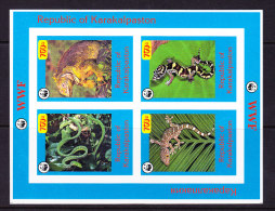KARAKALPASTAN_, REPTILES, WWF, ** MNH .  (5R41) - Serpents
