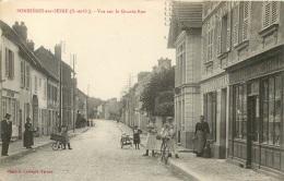 BONNIERES SUR SEINE VUE SUR LA GRANDE RUE - Bonnieres Sur Seine