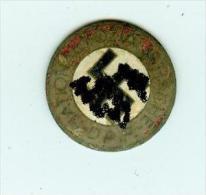 Mitgliedsabzeichen -Original - Bodenfund -Ungereinigt -ohne Nadel - 1939-45