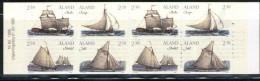 (018/1895) Aland Isl.  Booklet Sailing Ship / Carnet Voiliers / Bateau / Schiff ** / Mnh  Michel MH 3 - Aland