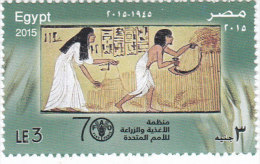 Egypt New Issue 2015, FAO  1v.complete Set MNH -SKRILL PAY ONLY - Nuovi