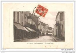 CANCON  EN LOT ET GARONNE LA GRANDE RUE CPA CIRCULEE  ANIMEE - France