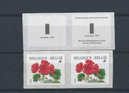 K 27 R 90b Tekst Sprintpak In Paar - Coil Stamps