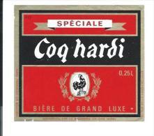 Etiquette Biere Brasserie Du Coq Hardi Lille Nord France   French Beer Label - Beer