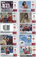 LOTTO 10 RICARICHE USATE TIM DIFFERENTI ULTIME EMISSIONI  (T24 - [2] Sim Cards, Prepaid & Refills