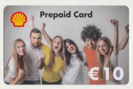 Shell - 10 € - Geschenkkarte/Giftcard  -   Gebraucht / Leer  !!!!! ( 384 ) - Gift Cards