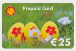 Shell - 25 € - Geschenkkarte/Giftcard  -   Gebraucht / Leer  !!!!! ( 385 ) - Gift Cards