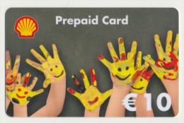 Shell - 10 € - Geschenkkarte/Giftcard  -   Gebraucht / Leer  !!!!! ( 386) - Gift Cards