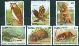 Cuba 1982 Prehistoric Fauna, Animals MNH** - Lot. 4443 - Cuba