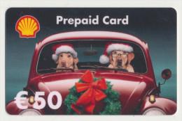 Shell - 50 € - Geschenkkarte/Giftcard  -   Gebraucht / Leer  !!!!! ( 387) - Gift Cards