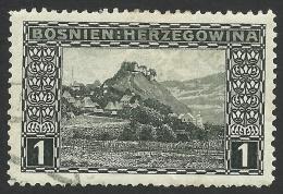 Bosnia And Herzegovina, 1 H. 1906, Sc # 30, Used. - Bosnia And Herzegovina