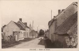 CPA - VOLGRE (YONNE) - Route De Senan - France