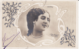 Femme,artiste, TOLEDO, Gui, Art Nouveau, Photo Reutlinger, 2 Scans - Frauen