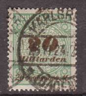 Deutsches Reich , 1923 , Mi.Nr. 329 O / Used - Used Stamps