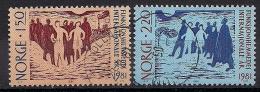 Norwegen  (1981)  Mi.Nr.  845 + 846  Gest. / Used  (ei113) - Norwegen