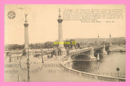 CPA LIEGE  Le Pont De La  Fragnée - Luik