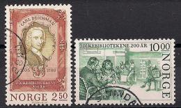 Norwegen  (1985)  Mi.Nr.  934 + 935  Gest. / Used  (ei115) - Norwegen
