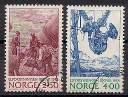 Norwegen  (1985)  Mi.Nr.  928 + 929  Gest. / Used  (ei116) - Norwegen