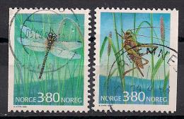 Norwegen  (1998)  Mi.Nr.  1275 + 1276  Gest. / Used  (ei121) - Gebraucht