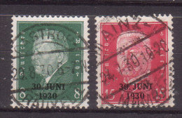 Deutsches Reich , 1930 , Mi.Nr. 444 / 445 O / Used - Used Stamps