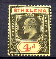 Y1464 - ST. HELENA 1912,  Gibbons N. 83 Fil Multi CA . Senza Gomma - Isola Di Sant'Elena