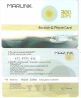 Norway-Marlink Satellite Prepaid Card 300 Units, Exp.date 31/05/2005, Used - Norvège