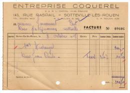 1948--SOTTEVILLE LES ROUEN-76--Entreprise COQUEREL - 1900 – 1949